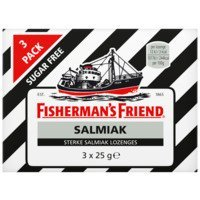 Een afbeelding van Fisherman's Friend Salmiak sugarfree