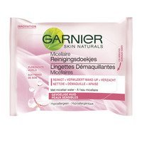 Een afbeelding van Garnier Skin naturals wipes ultra soft micellair