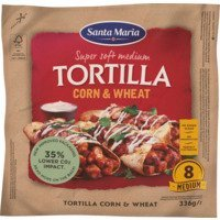 Een afbeelding van Santa Maria Tortilla wraps corn & wheat medium