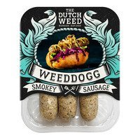 Een afbeelding van The Dutch weedburger Smokey sausage