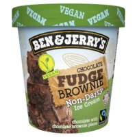 Een afbeelding van Ben & Jerry's Chocolate fudge brownie non-dairy
