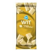 Witte chocolade repen