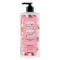 Een afbeelding van Love Beauty & Planet Muru muru butter & rose oil showergel