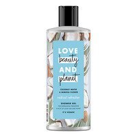 Een afbeelding van Love Beauty & Planet Coconut water & mimosa flower showergel