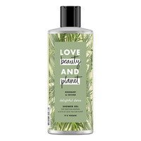 Een afbeelding van Love Beauty & Planet Rosemary & vetiver showergel