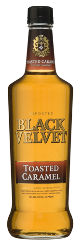 Black Velvet Toasted Caramel 70CL