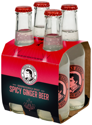 Thomas Henry Gingerbeer 4X20CL