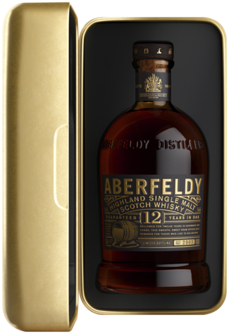 Aberfeldy 12 Years in Golden Box