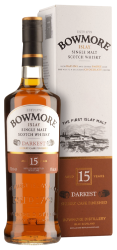 Bowmore 15 Years Darkest 70CL