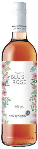 Van Loveren Low Alcohol Blush Sweet Rosé 75CL