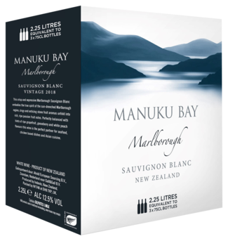 Manuku Bay Sauvignon Blanc Bag in Box