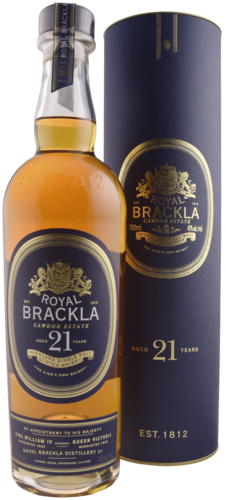 Royal Brackla 21 Years Dist 70CL