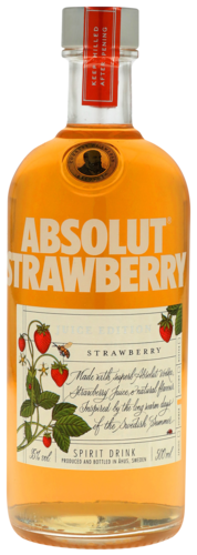 Absolut Strawberry Juice Edition