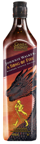 Johnnie Walker A Song Of Fire Game Of Thrones