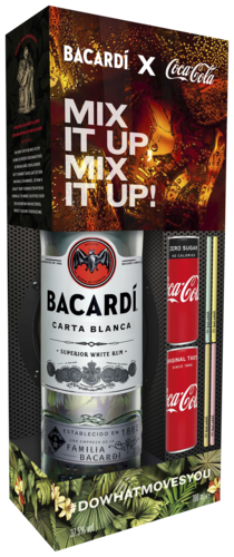 Bacardi Carta Blanca Mix it Up Kit