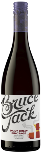 Bruce Jack Coffee Pinotage 75CL kopen