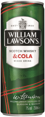 William Lawson's Cola 25CL