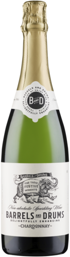 Barrels And Drums Sparkling Alcoholvrij 75CL