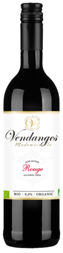 Vendanges Mademoiselle Rouge Organic Alcoholvrij 75CL