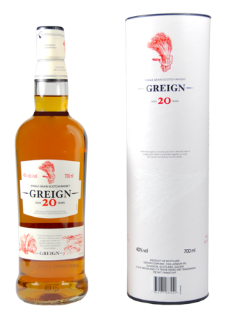 Greign Single Grain Whisky 20 Years