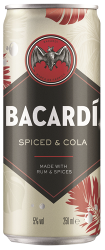 Bacardi Spiced & Cola 5%