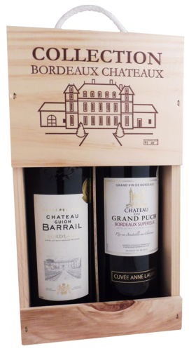 Bordeauxkist Chateau Barrail & Chateau Grand Puch
