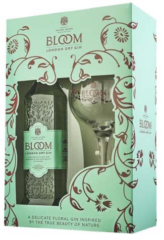Bloom Londen Dry + Coppe glas Giftpack