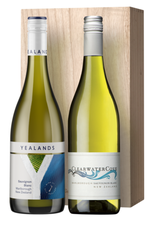 Duo Giftpack Yealands & Clearwater Cove Sauvignon Blanc