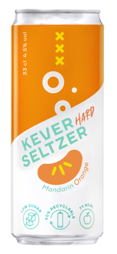 Kever Hard Seltzer Mandarin Orange