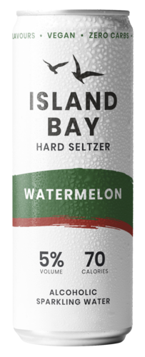 Island Bay Watermelon Hard Seltzer
