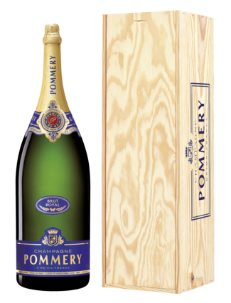 Pommery Brut Royal in Kist