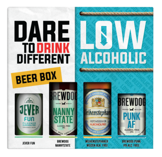 Dare To Drink Different Low Alc.