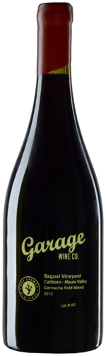 Garage Wine Co Bagual Vineyard Garnacha