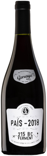 Garage Wine Co Pais 215 BC Single Ferment