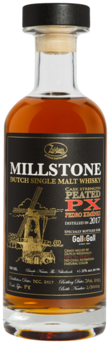 Millstone Dutch Peated PX Cask Strength