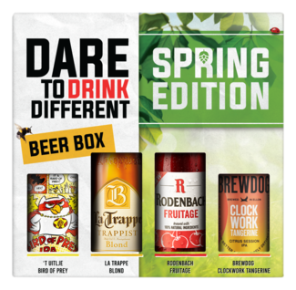 Dare To Drink Different Lente GVP