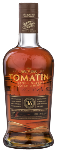 Tomatin Vintage 36 years 70CL