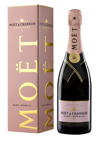 Moët & Chandon Rosé Giftpack 75CL