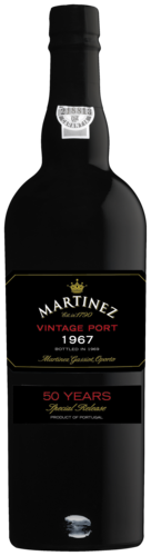 Martinez vintage port 1967