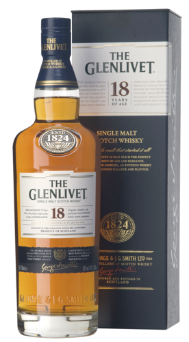 The Glenlivet 18 Years 70CL