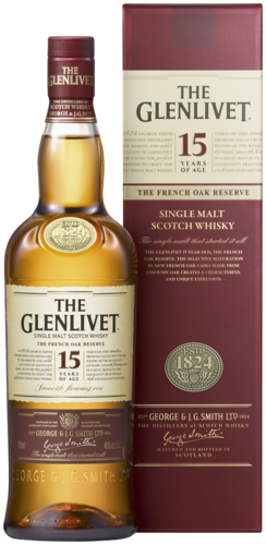 The Glenlivet 15 Years French Oak Reserve 70CL