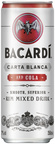 Bacardi Cola 25CL