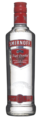 Smirnoff Vodka No 21 50CL