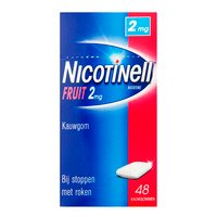 Nicotinell Fruit kauwgom 2mg stoppen met roken