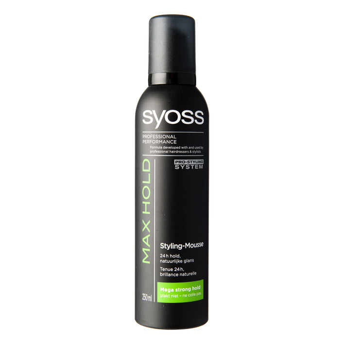 Een afbeelding van Syoss Styling mousse max hold