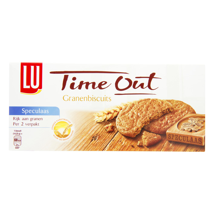Een afbeelding van Time Out Time out granen biscuits speculaas
