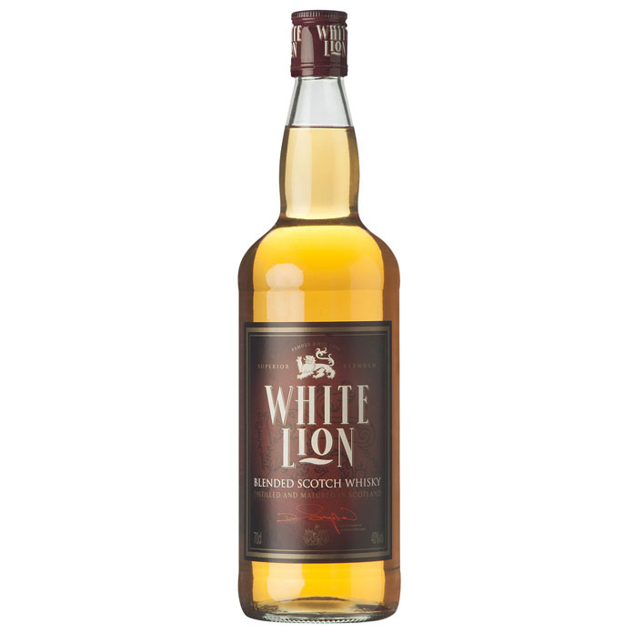 Een afbeelding van White Lion Blended Scotch whisky