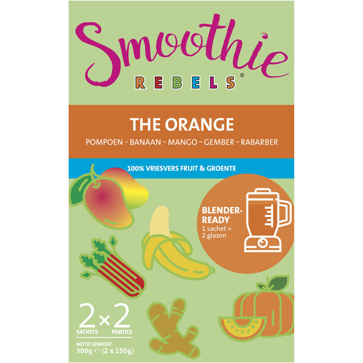 Een afbeelding van Smoothie Rebels The orange