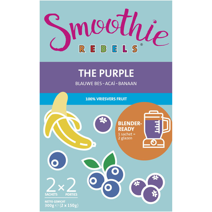 Een afbeelding van Smoothie Rebels The purple