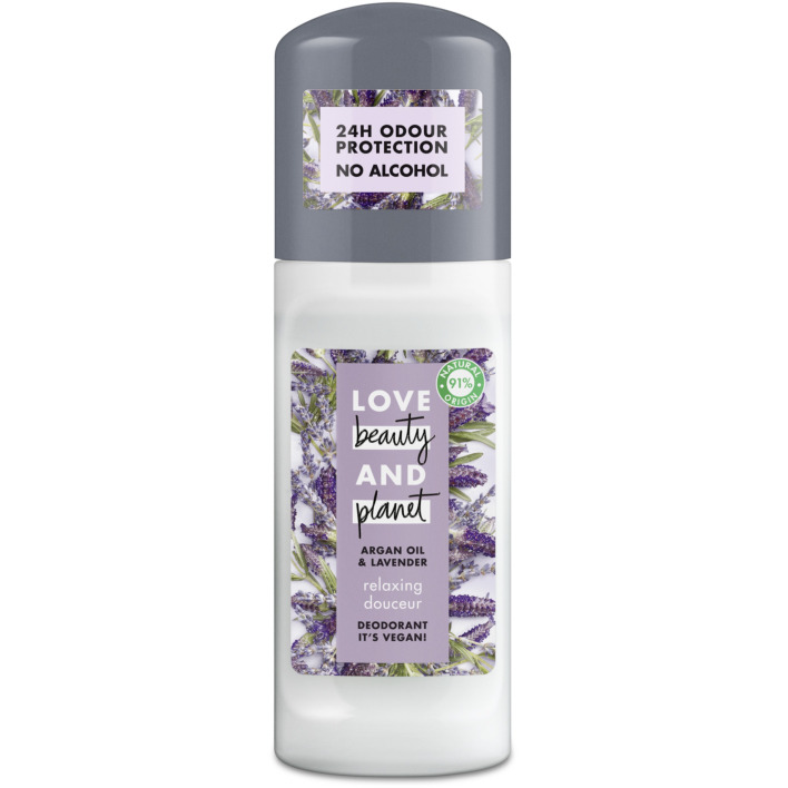Een afbeelding van Love Beauty & Planet Deo roll-on relaxing deodorant stick